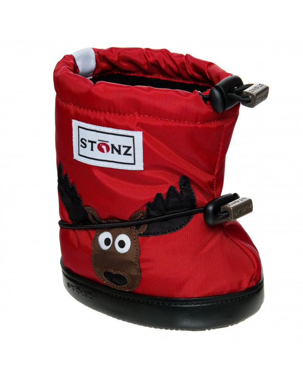 DETSKÉ OUTDOOR CAPAČKY Toddler Booties - Moose Red Toddler Booties Stonz®