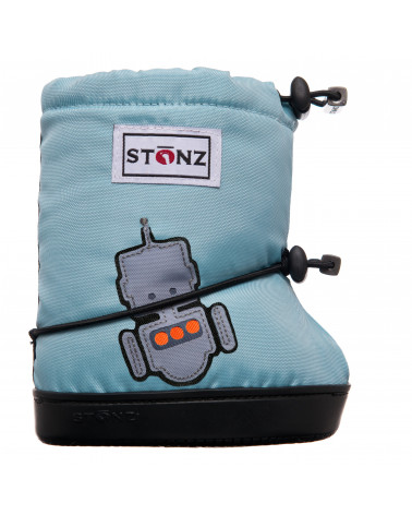 DETSKÉ OUTDOOR CAPAČKY Toddler Booties - Robot Toddler Booties Stonz®