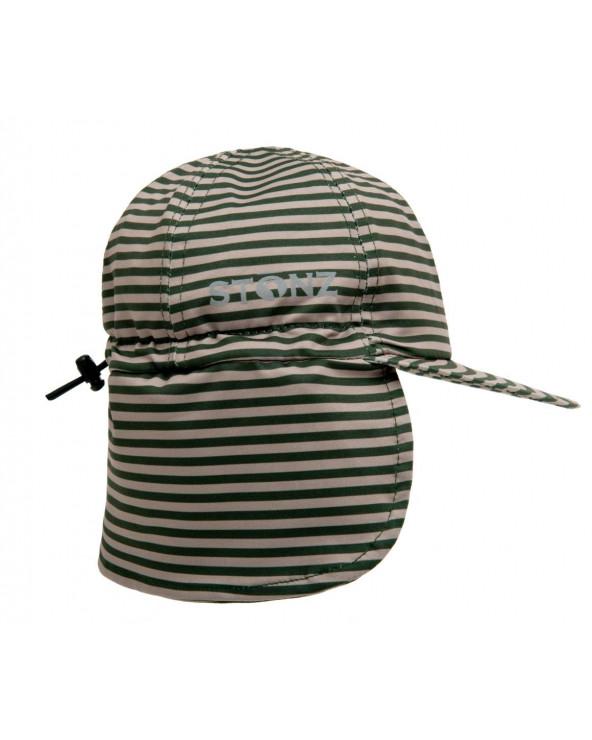 DETSKÁ ŠILTOVKA S UV OCHRANOU - Forest Trail Stripes Čiapky & Klobúky Stonz®