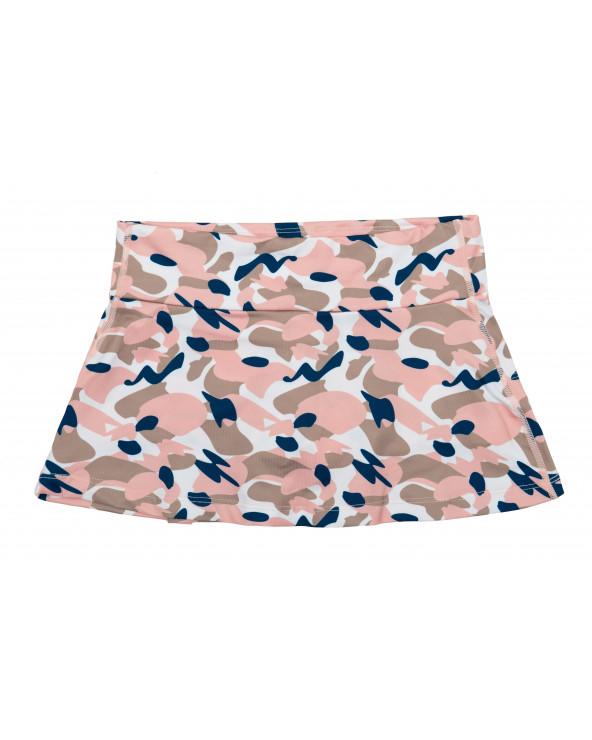 DETSKÁ SUKŇA 2v1 S UV OCHRANOU - Camo Pink Sukne Stonz®