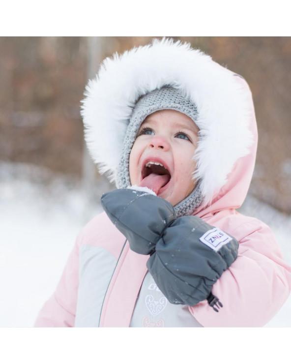 DETSKÉ RUKAVICE BABY - Grey Rukavice (0 - 2 roky) Stonz®