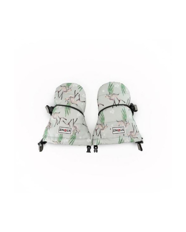 Sold Out                 DETSKÉ RUKAVICE BABY - Magic Deer Print Rukavice 0-2 R. Stonz®