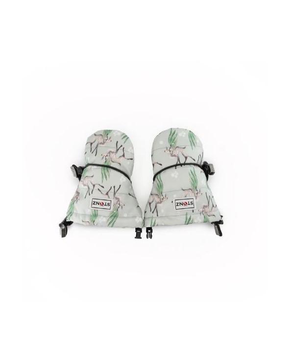 Sold Out                 DETSKÉ RUKAVICE BABY - Magic Deer Print Rukavice (0 - 2 roky) Stonz®