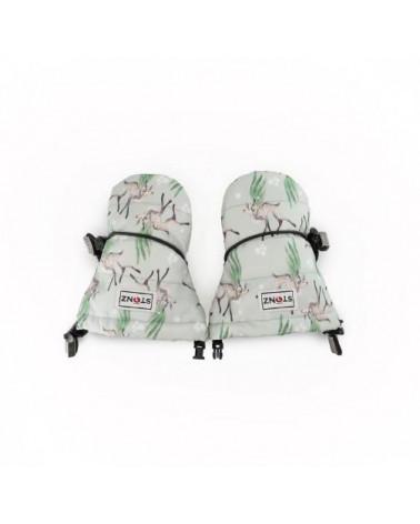 DETSKÉ RUKAVICE BABY - Magic Deer Print Rukavice 0-2 R. Stonz®
