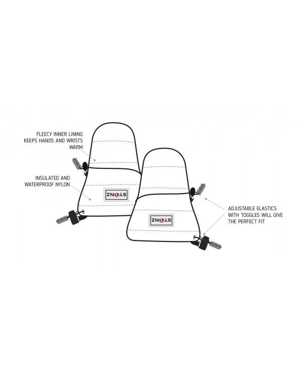 DETSKÉ RUKAVICE BABY - Haze Pink Rukavice 0-2 R. Stonz®