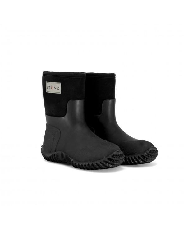 DETSKÉ NEOPRÉNOVÉ ČIŽMY WEST - čierne Celoročné topánky West Stonz®