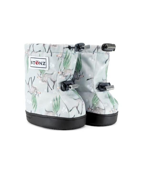 Sold Out           DETSKÉ OUTDOOR CAPAČKY Toddler Booties - Magic Deer Green Toddler Booties Stonz®