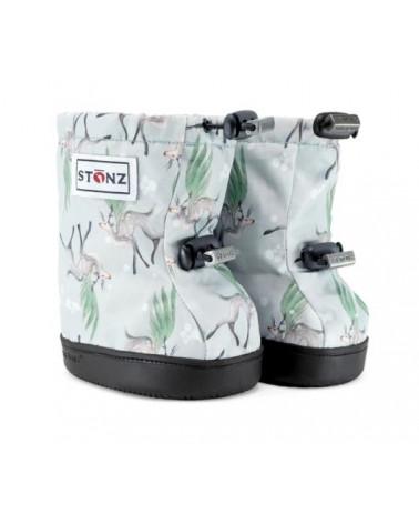 DETSKÉ OUTDOOR CAPAČKY Toddler Booties - Magic Deer Green Toddler Booties Stonz®
