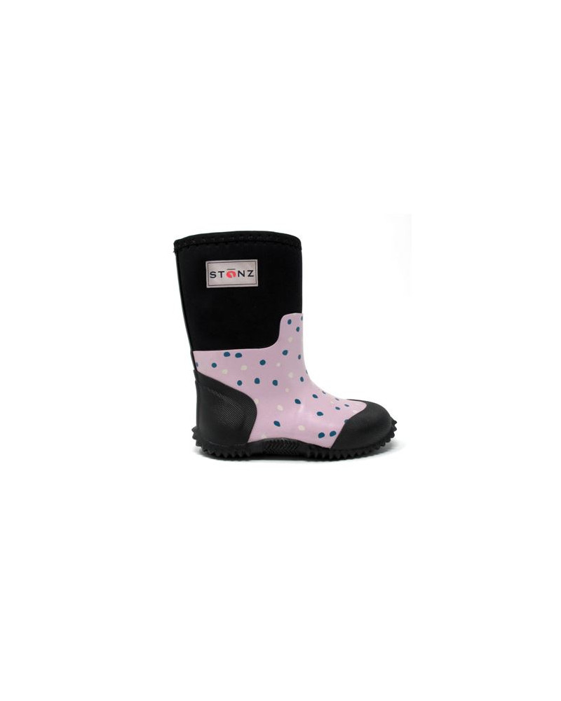 DETSKÉ NEOPRÉNOVÉ ČIŽMY WEST - Pink Snow Celoročné topánky West Stonz®