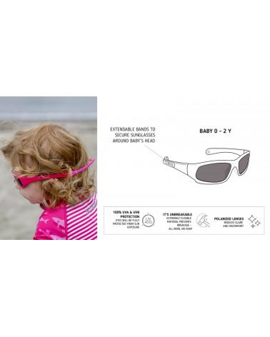 DETSKÉ SLNEČNÉ OKULIARE UV400 - White Slnečné okuliare Stonz®