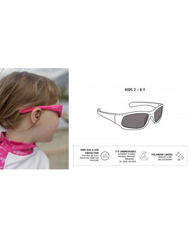 DETSKÉ SLNEČNÉ OKULIARE UV400 - Black Slnečné okuliare Stonz®
