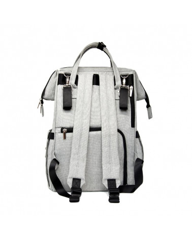 BATOH PRE MAMIČKY URBAN BACKPACK - classic grey Batoh Urban Backpack Stonz®