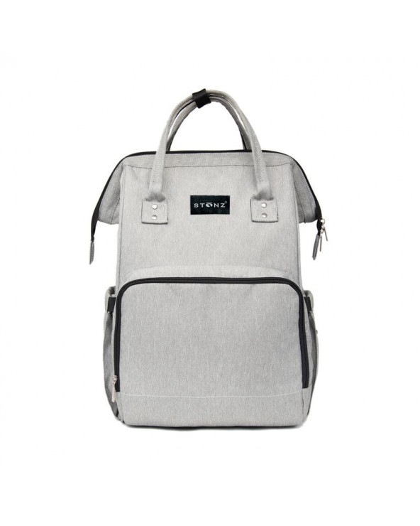 BATOH PRE MAMIČKY URBAN BACKPACK - classic grey Doplnky Stonz®
