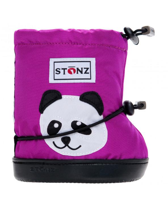 DETSKÉ OUTDOOR CAPAČKY - Panda Magenta Toddler Booties Stonz®