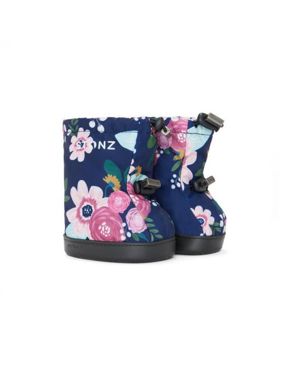 DETSKÉ OUTDOOR CAPAČKY Toddler Booties - Wildflower Navy Toddler Booties Stonz®