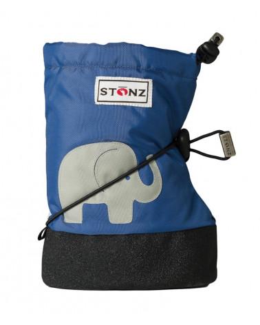 DETSKÉ OUTDOOR CAPAČKY - Elephant Slate Blue Baby Booties Stonz®