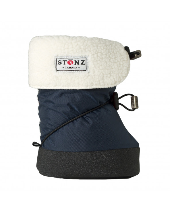 DETSKÉ OUTDOOR CAPAČKY - Navy Blue Baby Booties Stonz®