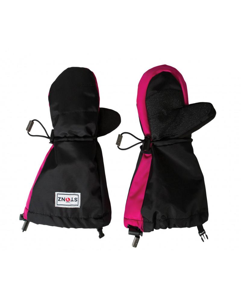 Detské rukavice Youth Mitts - ružovo-čierne Rukavice 2-8+ r. Stonz®