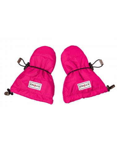 Detské rukavice Baby Mitts - ružové Rukavice 0-2 r. Stonz®