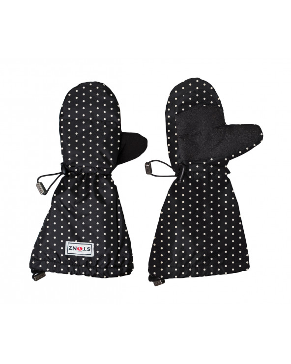 Detské rukavice Youth Mitts - Polka Dot Black&White Rukavice 2-8+ r. Stonz®