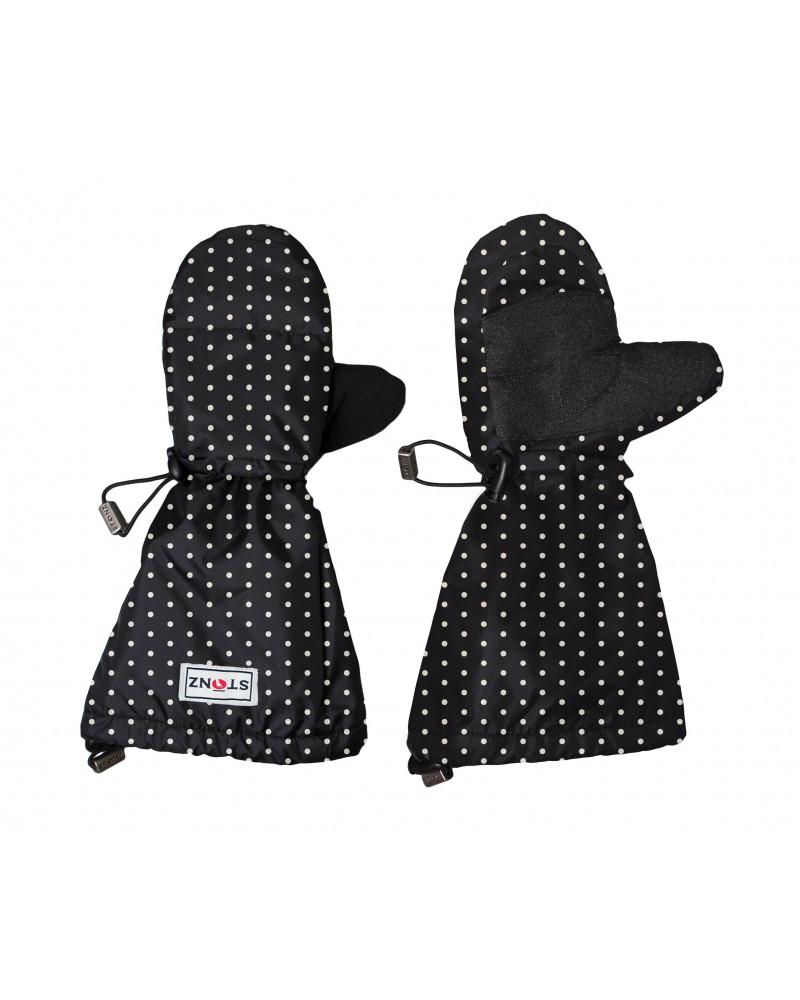 Detské rukavice Youth Mitts - Polka Dot Black&White Rukavice 2-8+ r. Stonz®