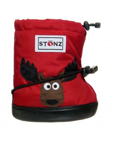 DETSKÉ OUTDOOR CAPAČKY - Moose Red Toddler Booties Stonz®